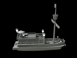Chinese Treasure Ship 3d model