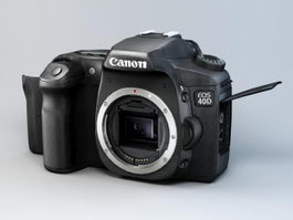 Canon EOS 40D Camera 3d model