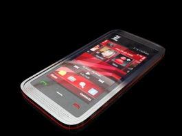 Nokia 5530 XpressMusic 3d model
