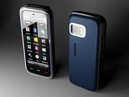 Nokia 5800 XpressMusic 3d model