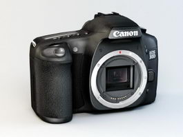 Canon EOS 30D 3d model