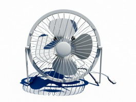 High-Velocity Floor Fan 3d model