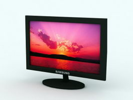 Samsung LCD Monitor 3d model
