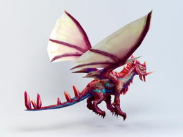 Guardian Dragon 3d model
