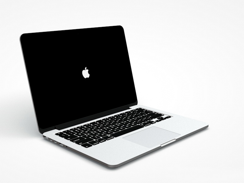 MacBook Pro 3D Model (Cinema4D)