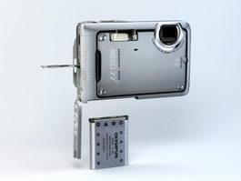 Olympus Stylus u770SW 3d model