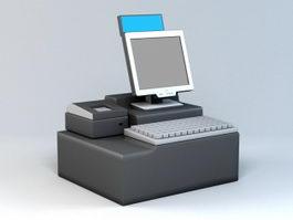 POS System 3d model