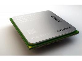 AMD Athlon Processor 3d model
