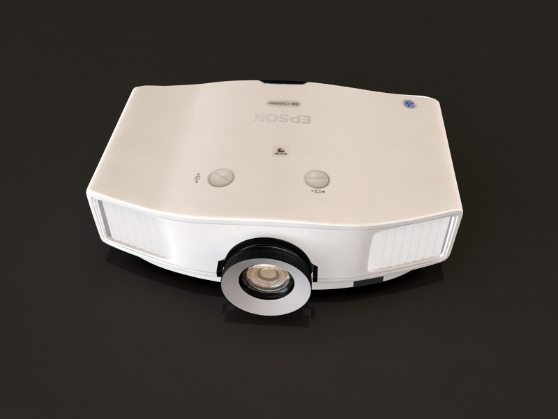 EPSON EB-C520XH Projector 3D Model