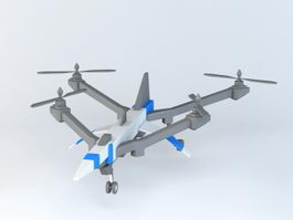Toy Drone 3d model