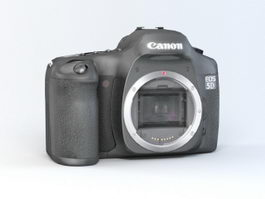 Canon EOS 5D 3d model