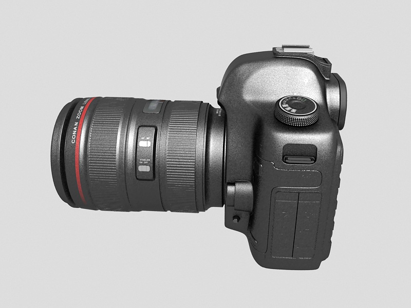 3dSkyHost: Canon EOS 5D Mark III 3D Model