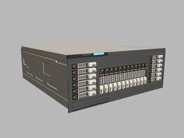 Dell PowerEdge Server 3d model