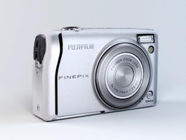 Fujifilm FinePix F40fd Camera 3d model