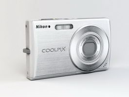 Nikon Coolpix S200 Digital Camera 3d model