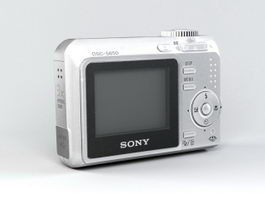 Sony Cyber-shot DSC-S650 Digital Camera 3d model