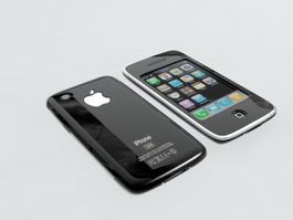 Apple iPhone 6 Black 3d model