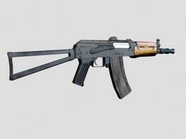 AKS-74U Carbine 3d model