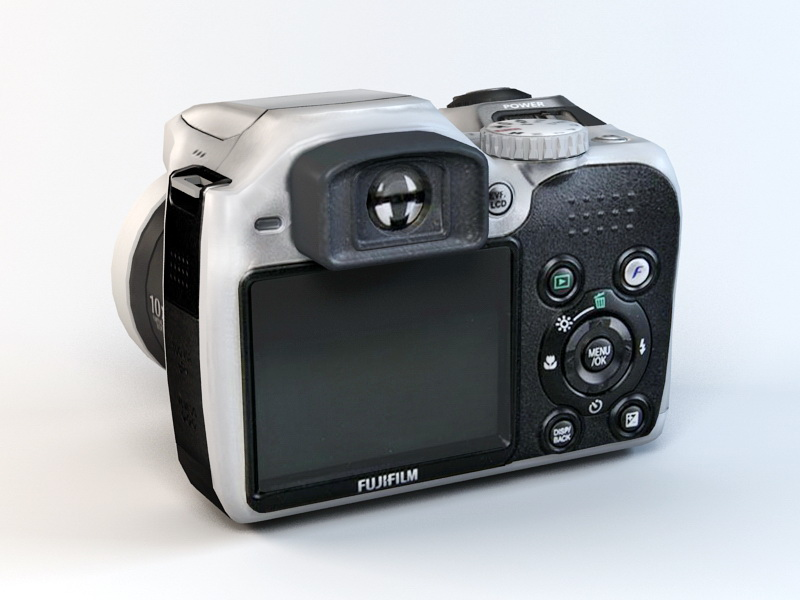 3dSkyHost: Fujifilm FinePix S5700 Camera 3D Model