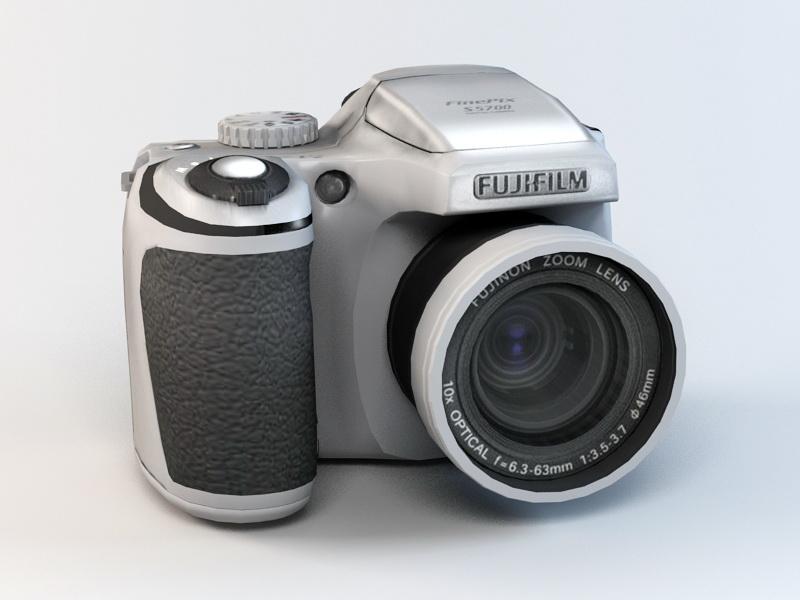 Fujifilm FinePix S5700 Camera 3D Model