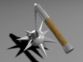 Stick Chain Mace 3d preview