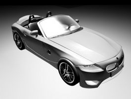 BMW Roadster Convertible 3d model