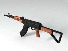 Type 81-1 Assault Rifle 3d model