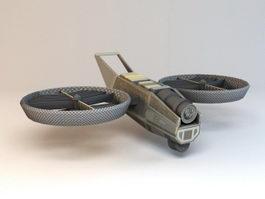 Bomber Drone 3d model
