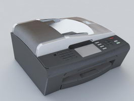 All in One Printer 3d model