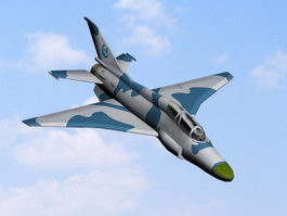 FTC-2000 Mountain Eagle Fighter-Trainer 3d model