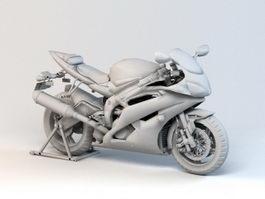 X-Bike 3d model