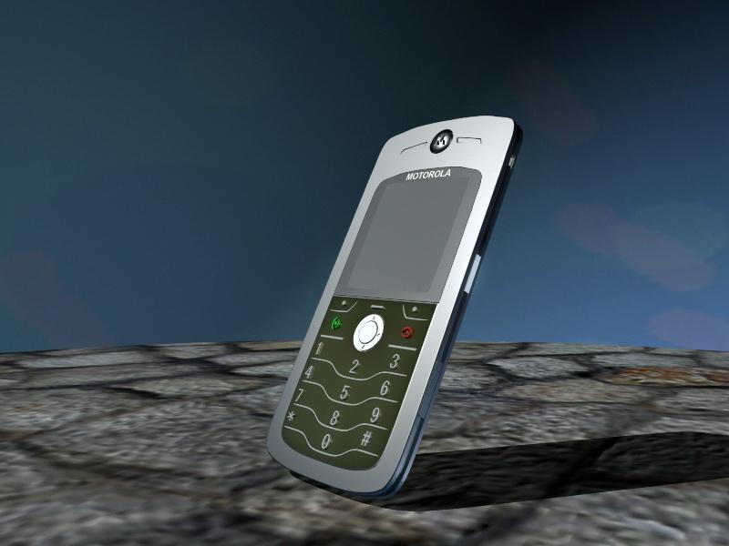 Motorola L7 Mobile Phone 3d Model Maya Files Free Download