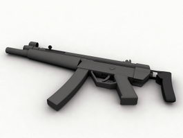 HK MP5 3d preview