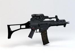 H&K G36C Rifle 3d model