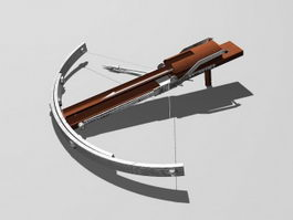 Ancient Crossbow 3d model