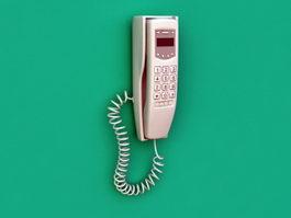 Wall Telephone 3d model