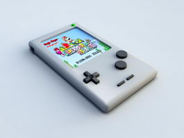 Game Boy 3d preview