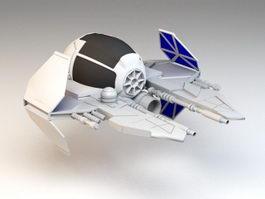 Jedi Starfighter 3d model