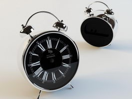 Analog Alarm Clock 3d model