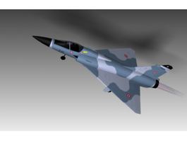 Mirage 2000 Fighter Jet 3d model