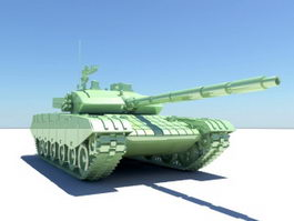 Advanced Battle Tank 3d model