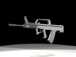 QBZ-95 Chinese Assault Rifle 3d model