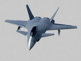J-14 Fighter 3d model