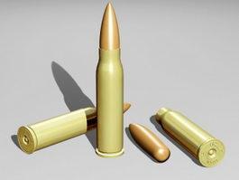 762 Bullet 3d model