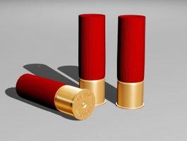 Shotgun Shell 3d model