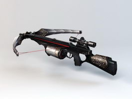Compound Crossbow 3d model
