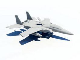F15 Fighter Jet 3d model