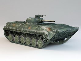 BMP-1 Tracked Infantry Fighting Vehicle 3d model