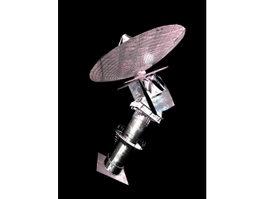 Radar Dish 3d model