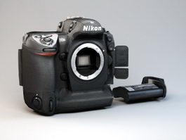 Nikon D2X Camera 3d model